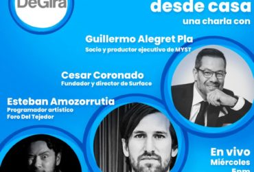 Entretenimiento en casa con Guillermo Alegret, César Coronado, Esteban Amozorrutia y Marcello Lara.