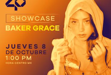 Baker Grace en Showcase a través de los 40 principales