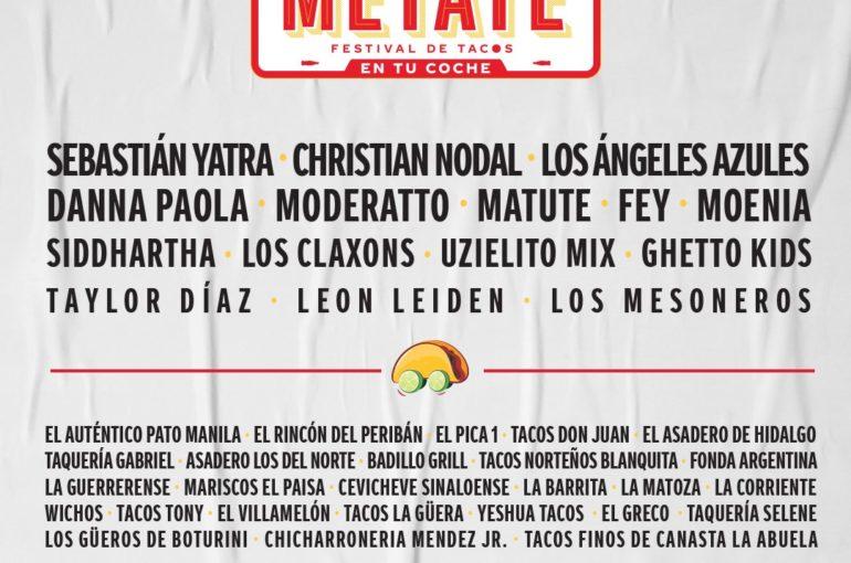 Coca Cola Metate: para disfrutar de tacos, Taylor Diaz y más música