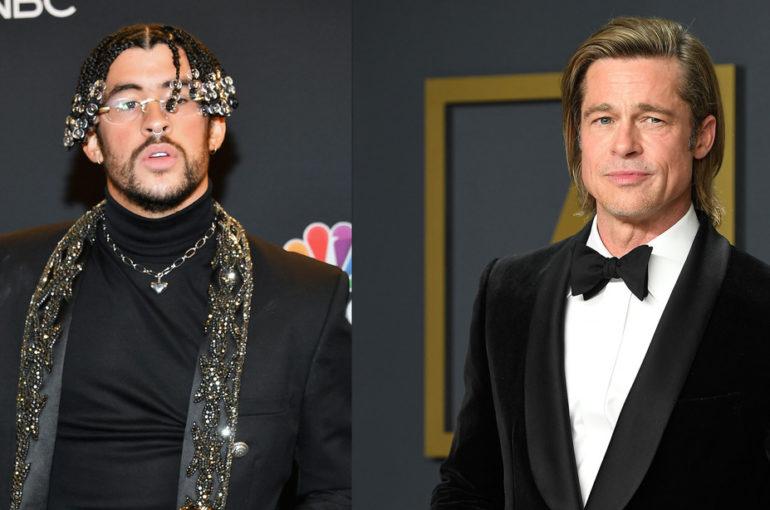 Bad Bunny y Brad Pitt: una combinación de película.