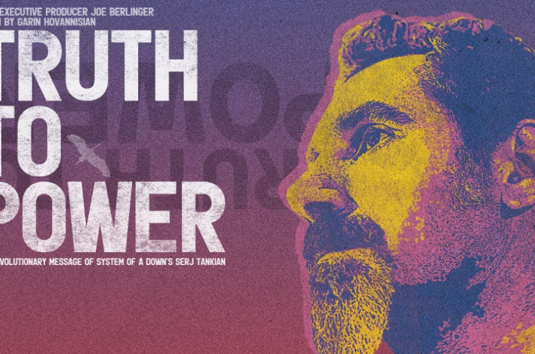 """Truth to Power"", una lucha musical al estilo de Serj Tankian, vocalista de System Of A Down"