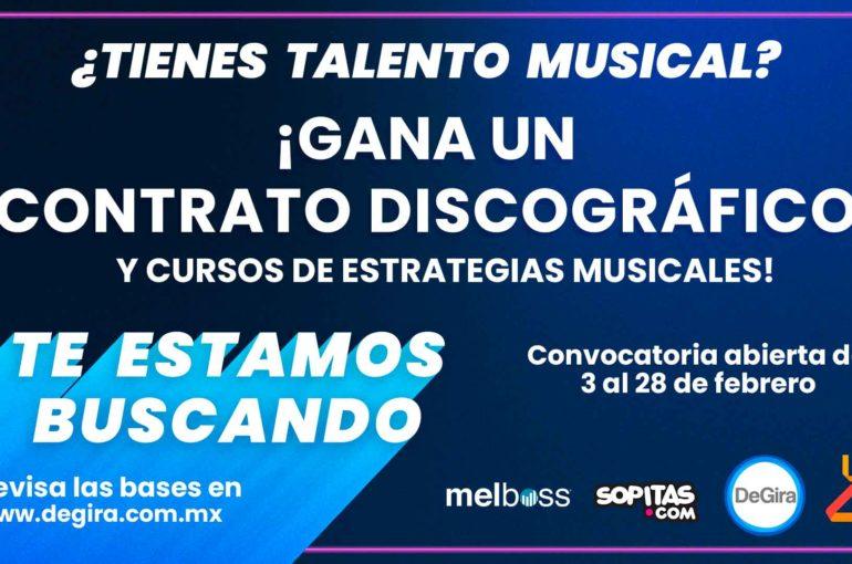 ¿Tienes talento musical? ¡Gana un contrato discográfico!
