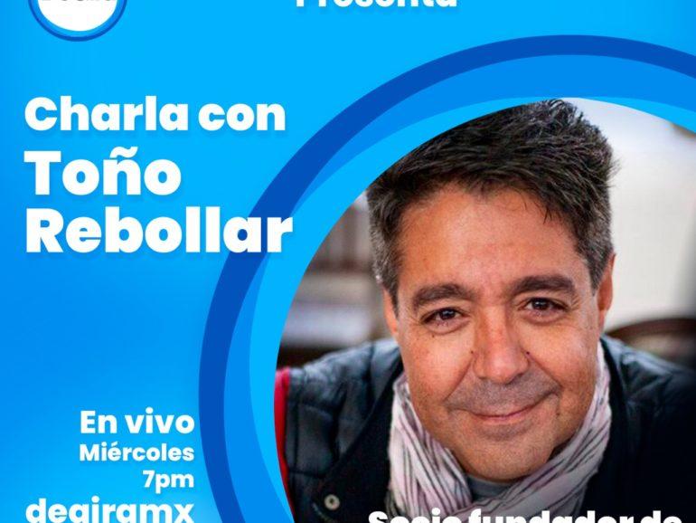 El derecho en la industria del entretenimiento, una charla con Toño Rebollar