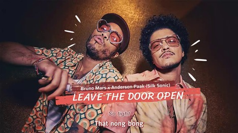 ¨Leave The Door Open¨: lo nuevo de Bruno Mars.