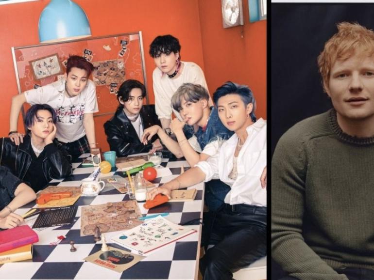 Ed Sheeran rumbo a conquistar el k-pop en nueva colaboración con BTS