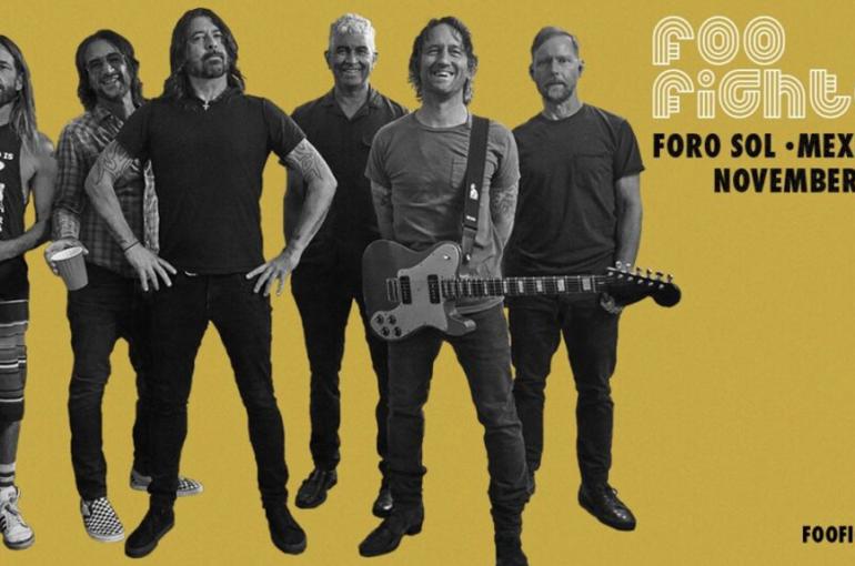 Foo Fighters regresa con todo a los escenarios de México