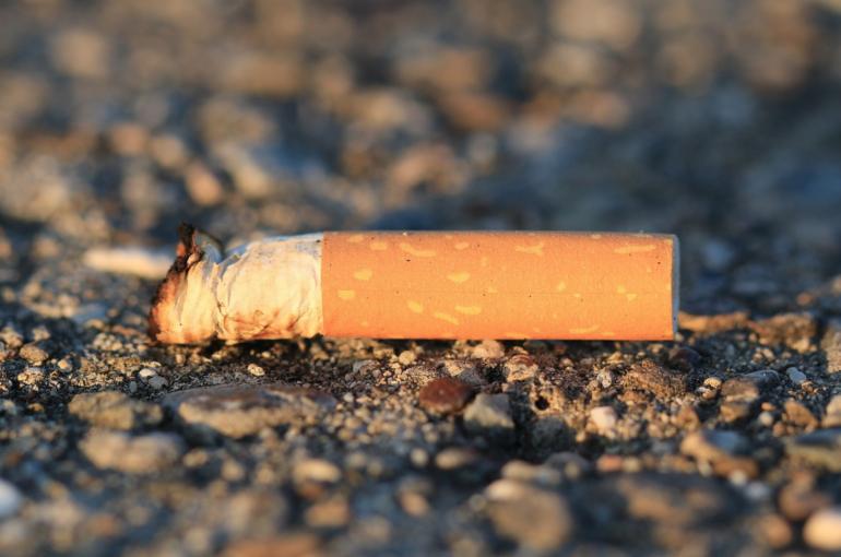 Beachbot: el nuevo carrito recolector de colillas de cigarro en la playa.
