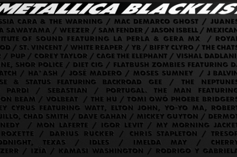 Metallica trabaja en 'The Blacklist', disco tributo al 30 aniversario de 'The Black Album'