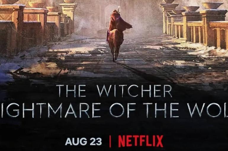La película precuela de The Witcher animada llegó a Netflix