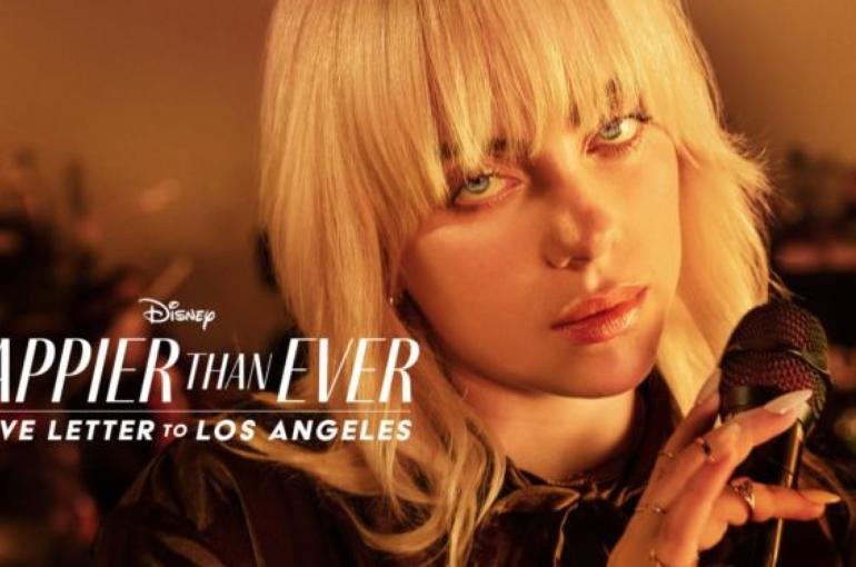 Billie Eilish protagoniza una película-concierto en Disney +