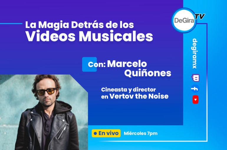 La magia detrás de los videos musicales explicado por Marcelo Quiñones